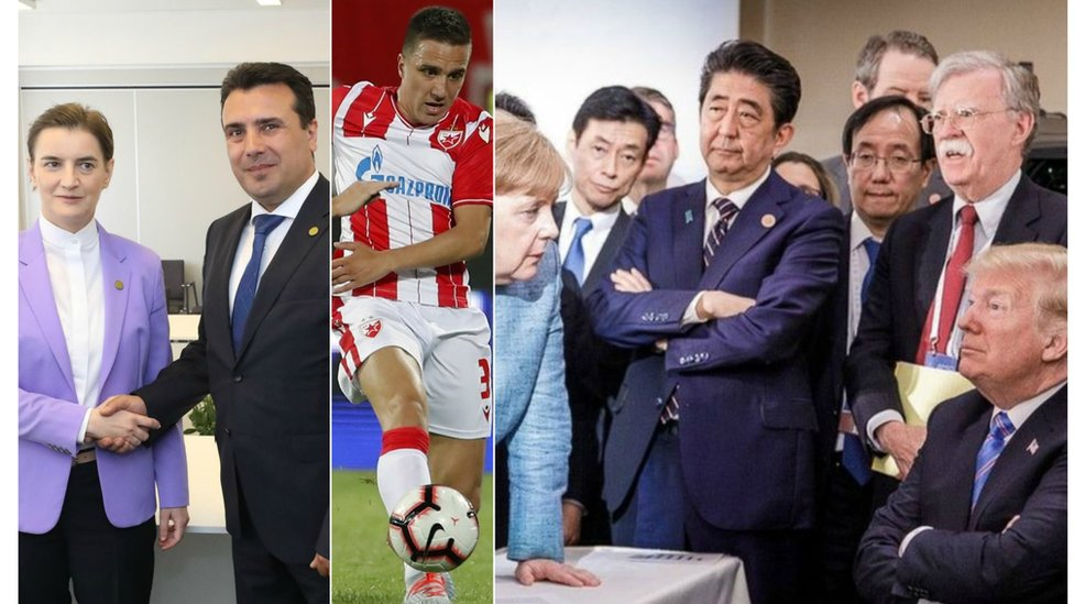 ana brnabić, zoran zaev, fudbal crvena zvezda, merkel i tramp samit g7