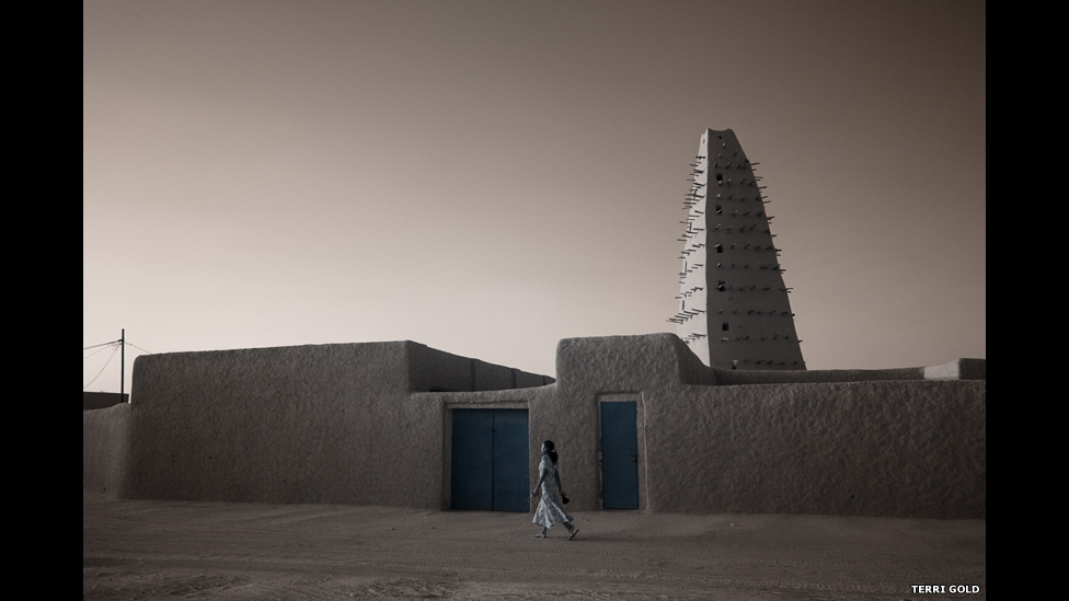 The 16th Century Grande Mosque in Agadez