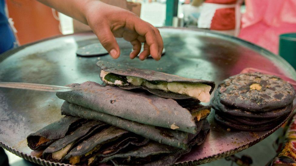 Las quesadillas es uno de los platillos más populares de México.