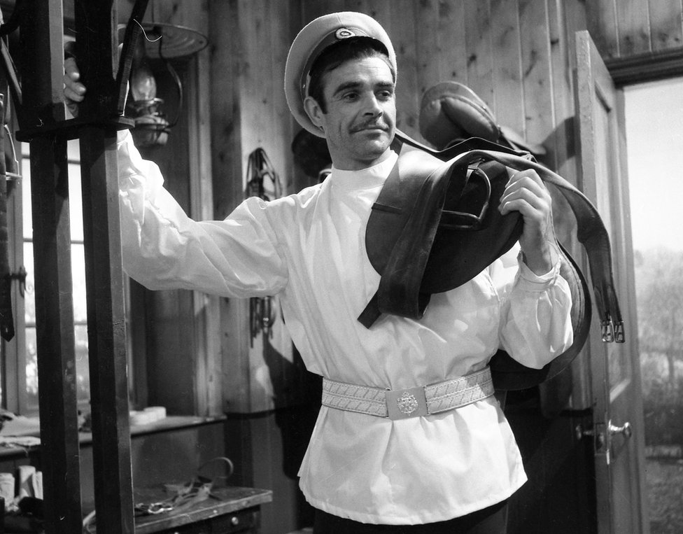 Sean Connery in Anna Karenina in 1961