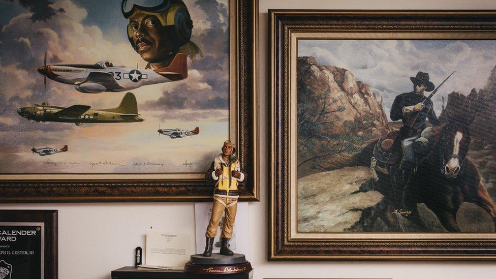 Military memorabilia of Joe Geeter