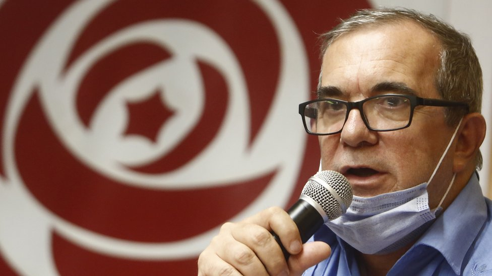 El excomandate guerrillero Rodrigo Londoño, alias Timochenko