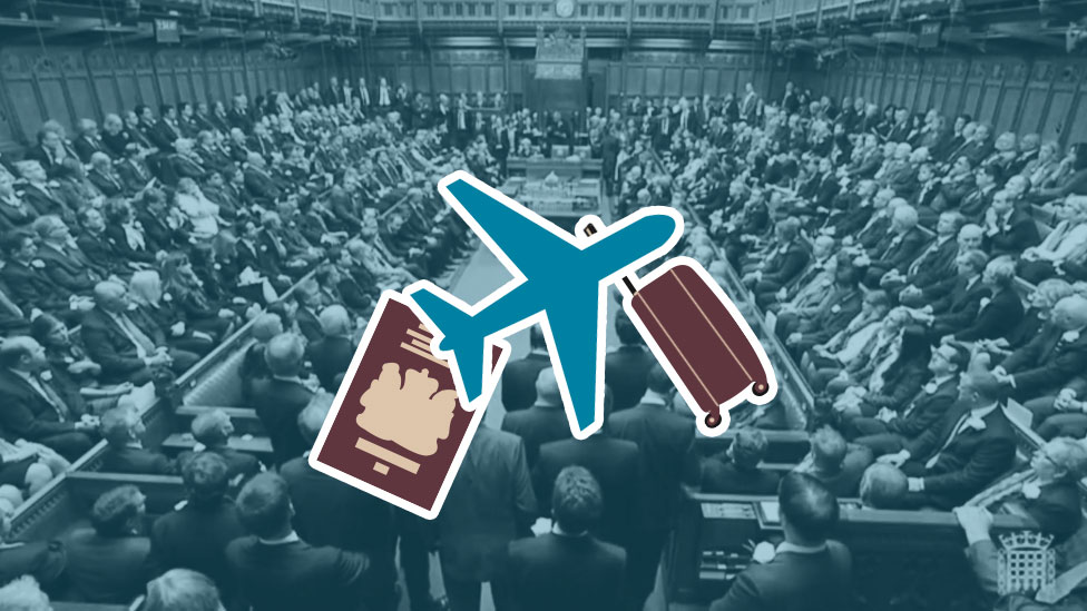 How many foreign trips has your MP been on?
