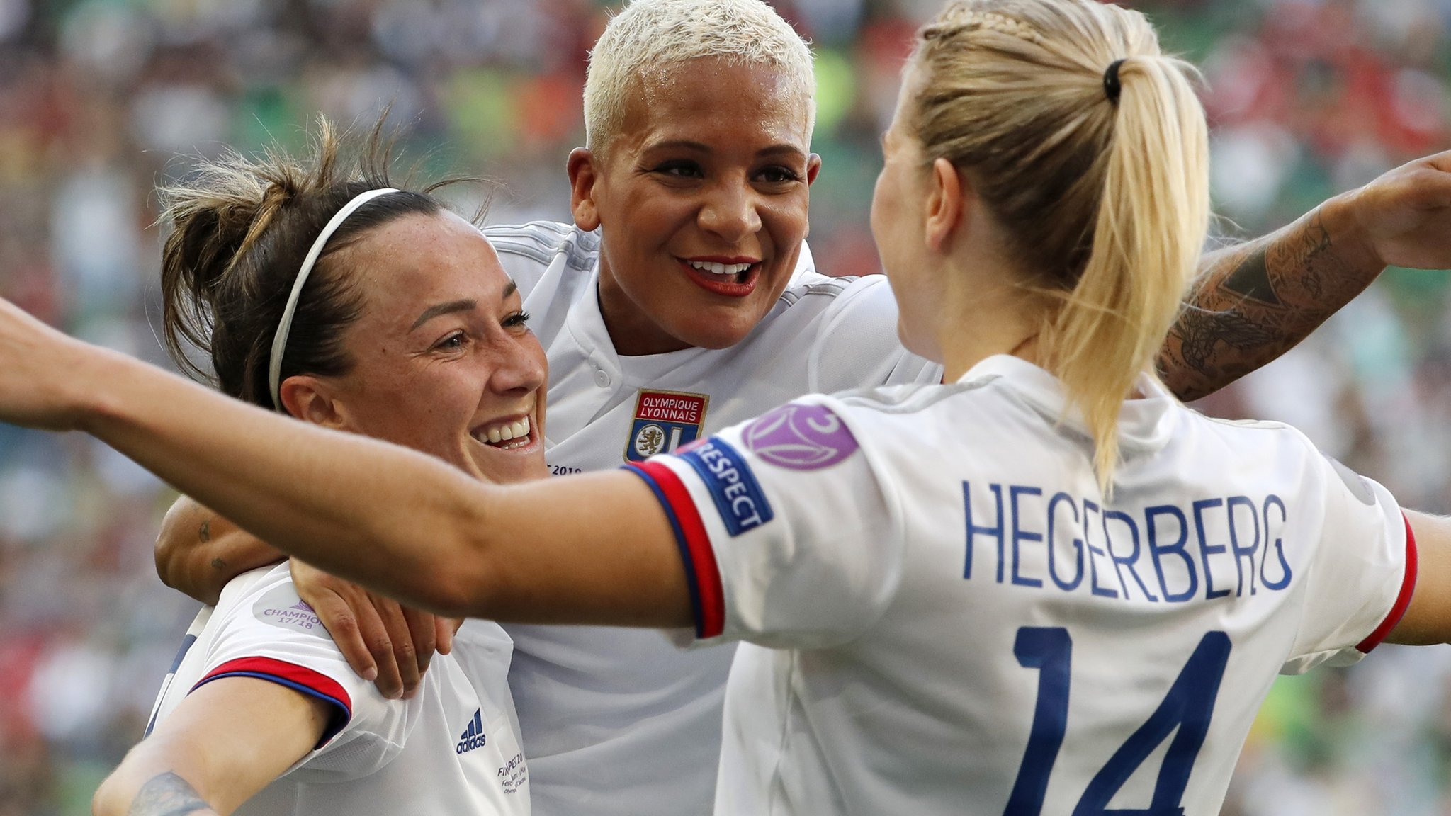 Women's Champions League final: Lyon Feminines 4-1 Barcelona Femenino