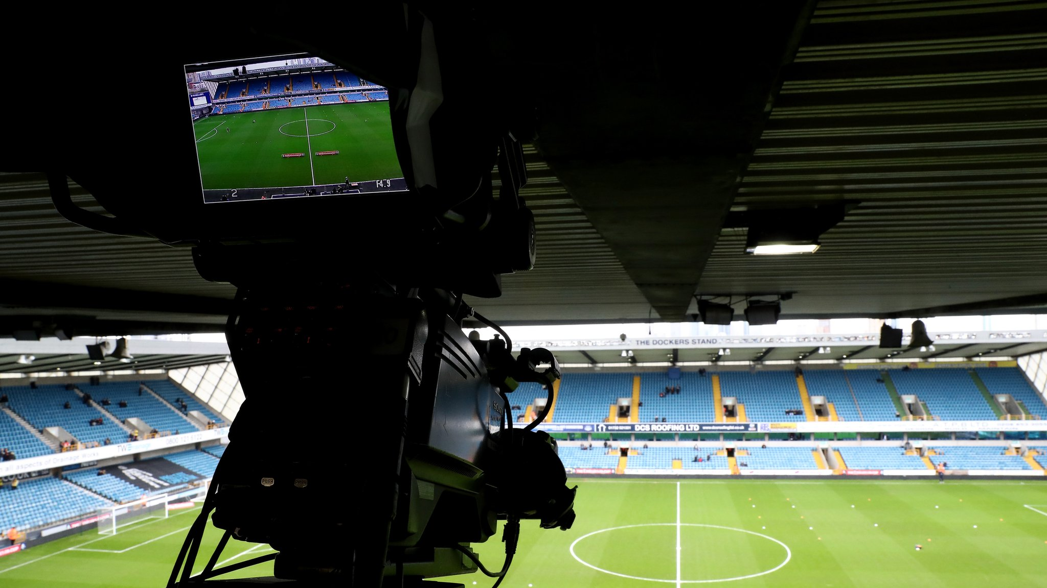 'Clubs could play in empty stadiums'