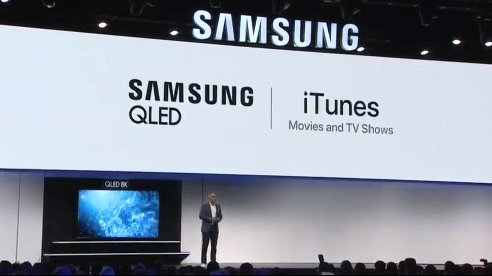 CES 2019: Samsung adds rival Apple's iTunes to smart TVs
