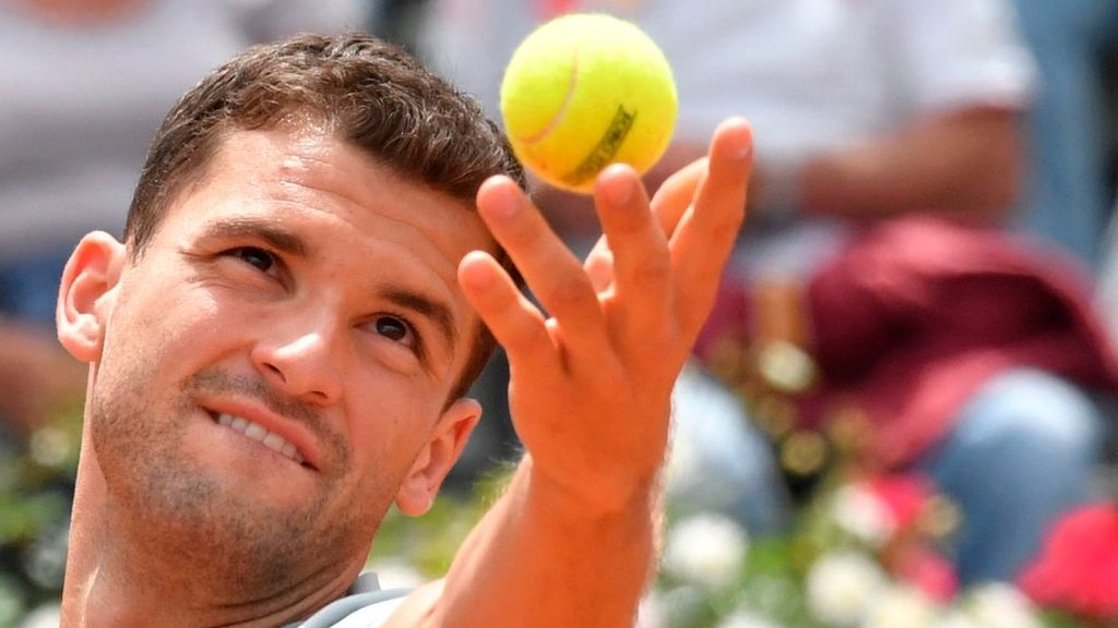 'You're on the main court in an hour' - world 182's late call to face Dimitrov