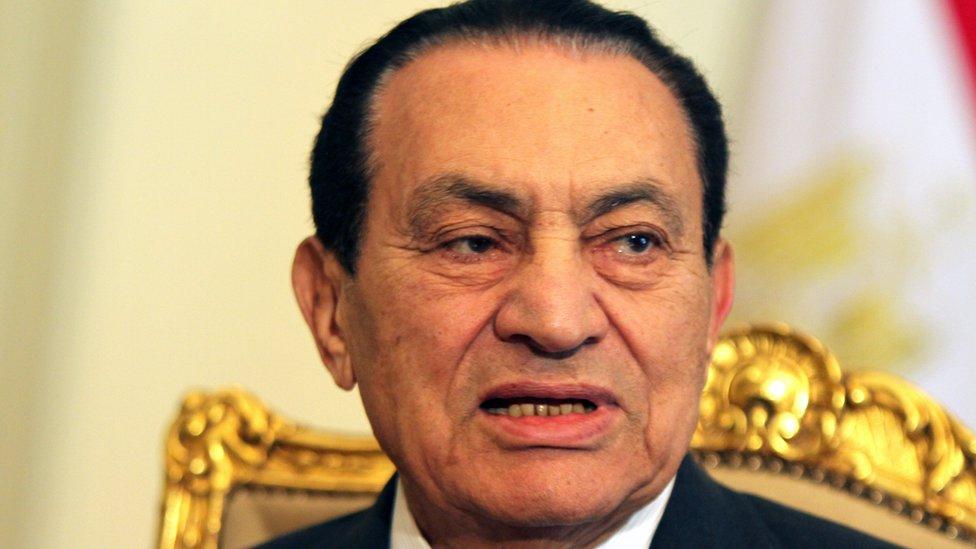 الرئيس مبارك