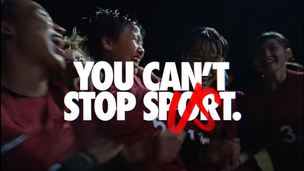 Nike's diversity advert causing a backlash in Japan thumbnail