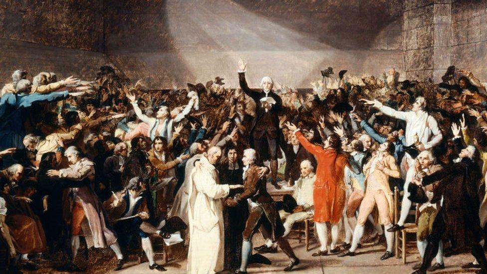 Asamblea Constituyente francesa 1789