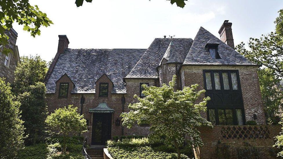 Dom porodice Obama u Vašingtonu