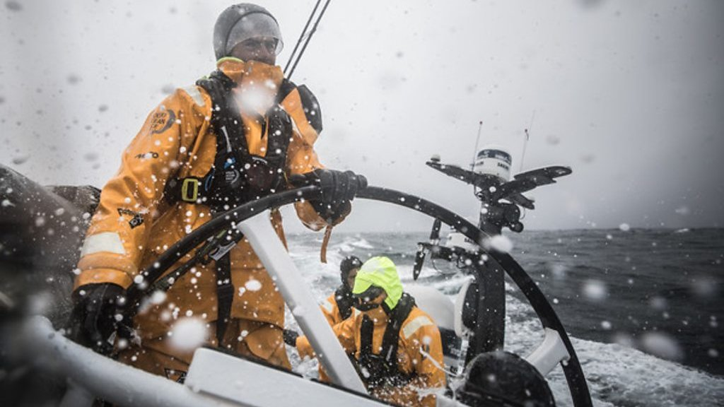 'It's cold, wet and dark and you want to keep sleeping' - inside the Volvo Ocean Race