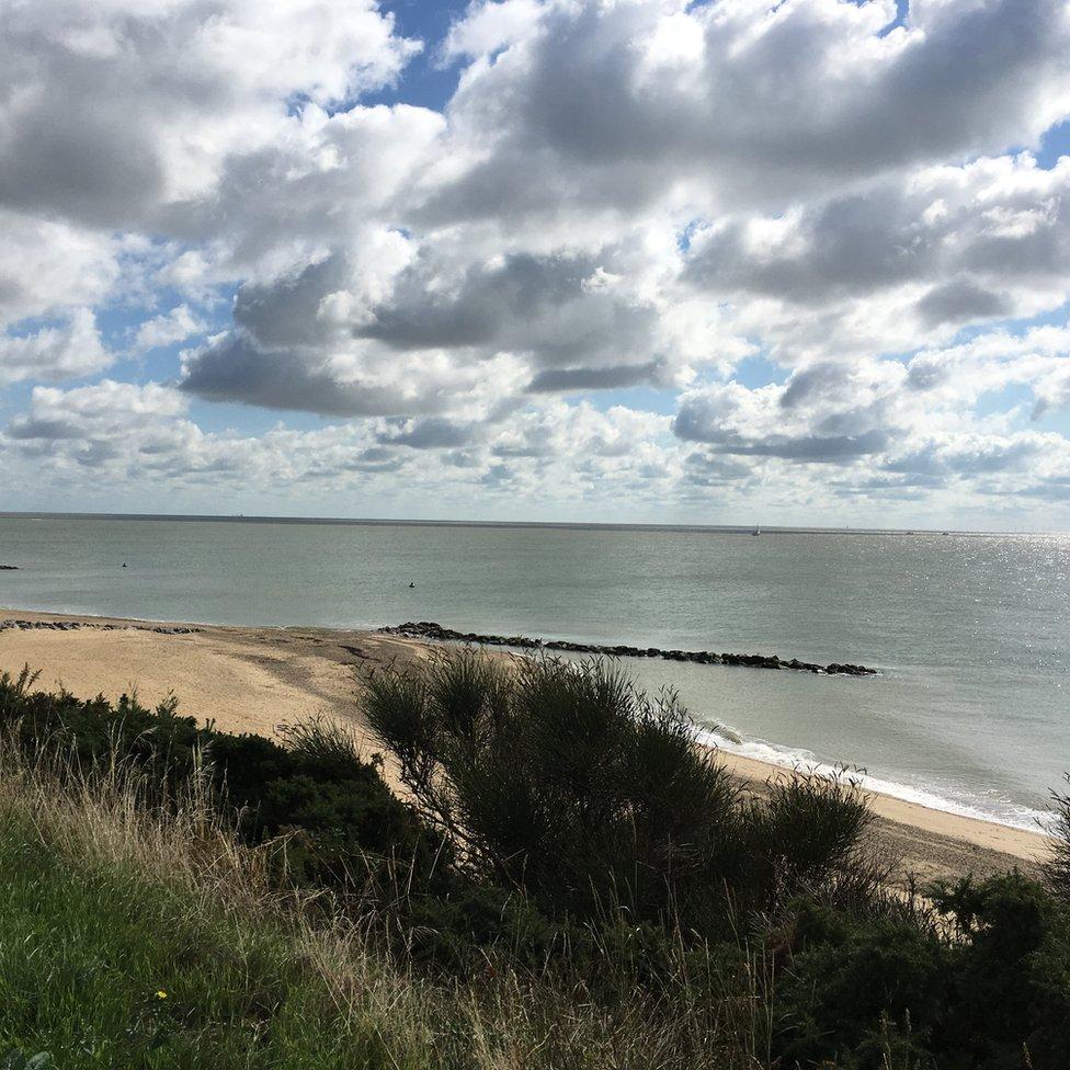 The Esplanade, Holland-on-Sea in Essex