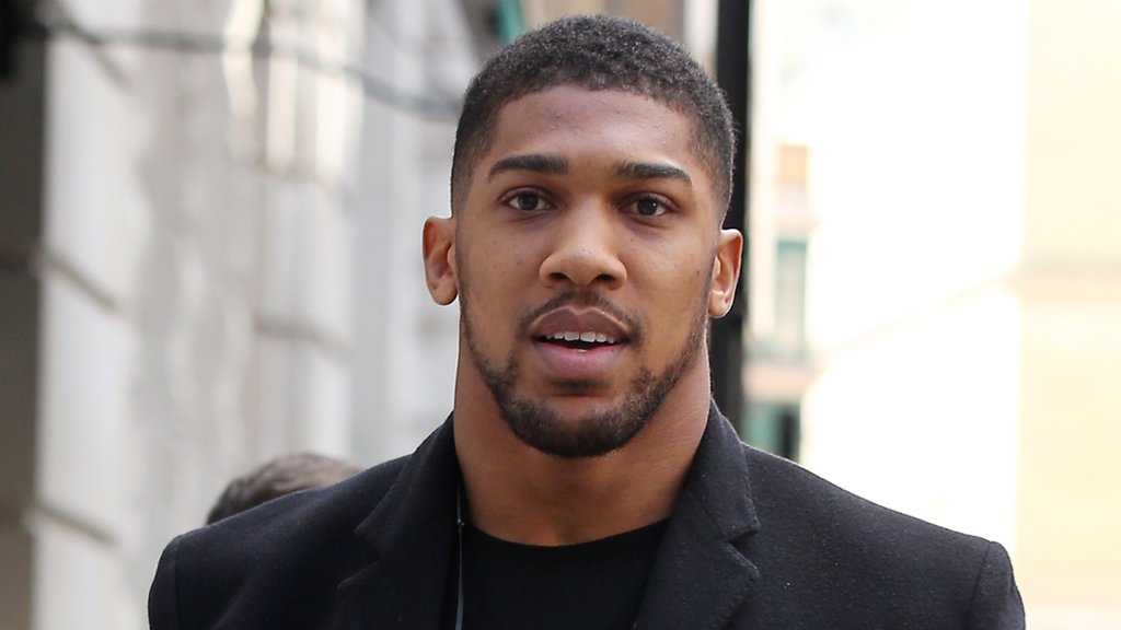 Anthony Joshua says he wants to fight Deontay Wilder in April