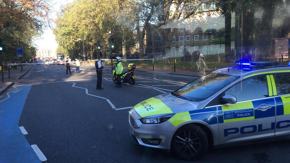 Teen injured in Clapham police car crash