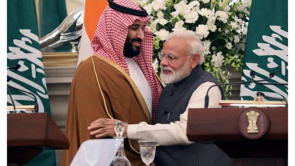 جولة ولي العهد السعودي