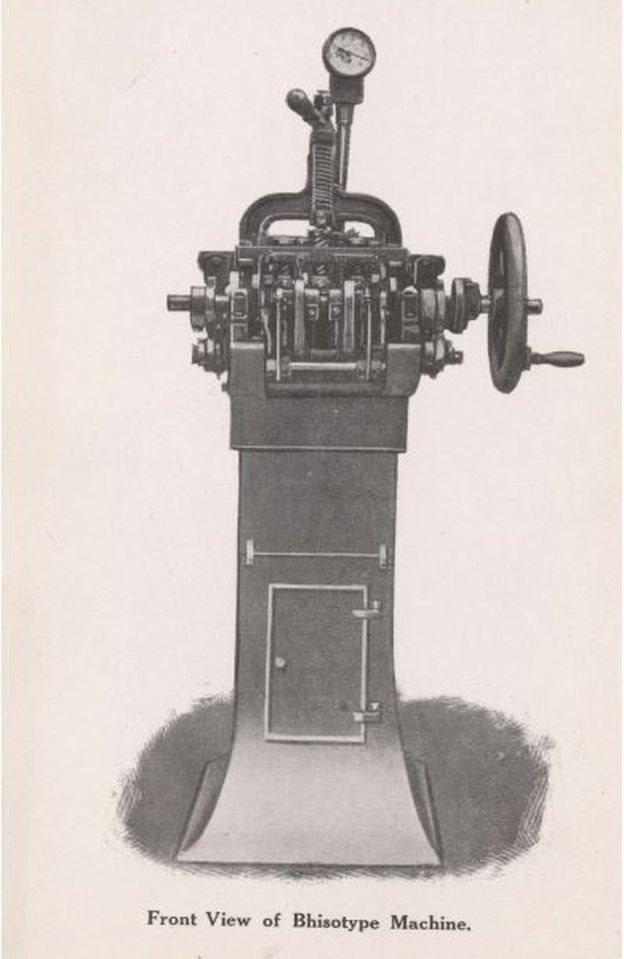 भिसोटाइप मशीन
