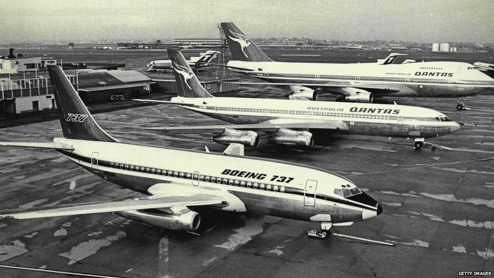 Boeings 737, 707 and 747