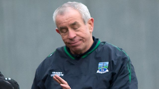Fermanagh boss Peter McGrath says Eoin Donnelly had been the best player on the field prior to his sending-off in the McKenna Cup semi-final against Tyrone