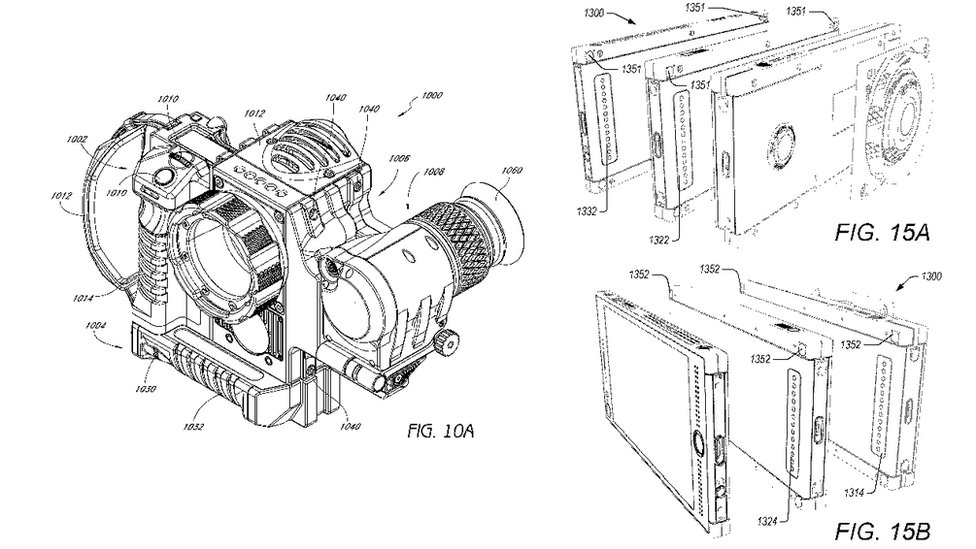 Red patent drawings