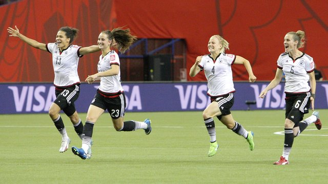 Women's World Cup 2015 highlights: Germany 1-1 France (5-4 pens)