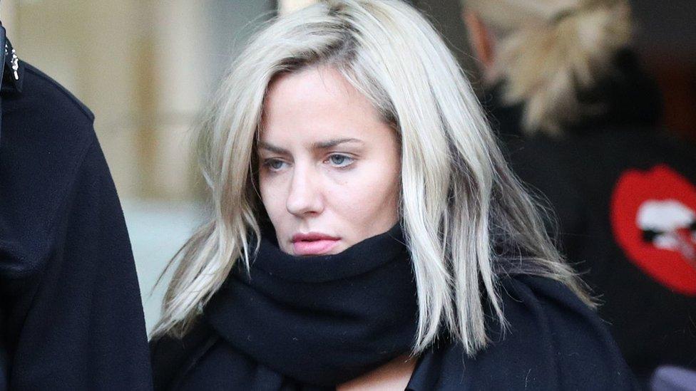 Caroline Flack Hit Boyfriend Over Cheating Fears Inquest Hears Bbc News