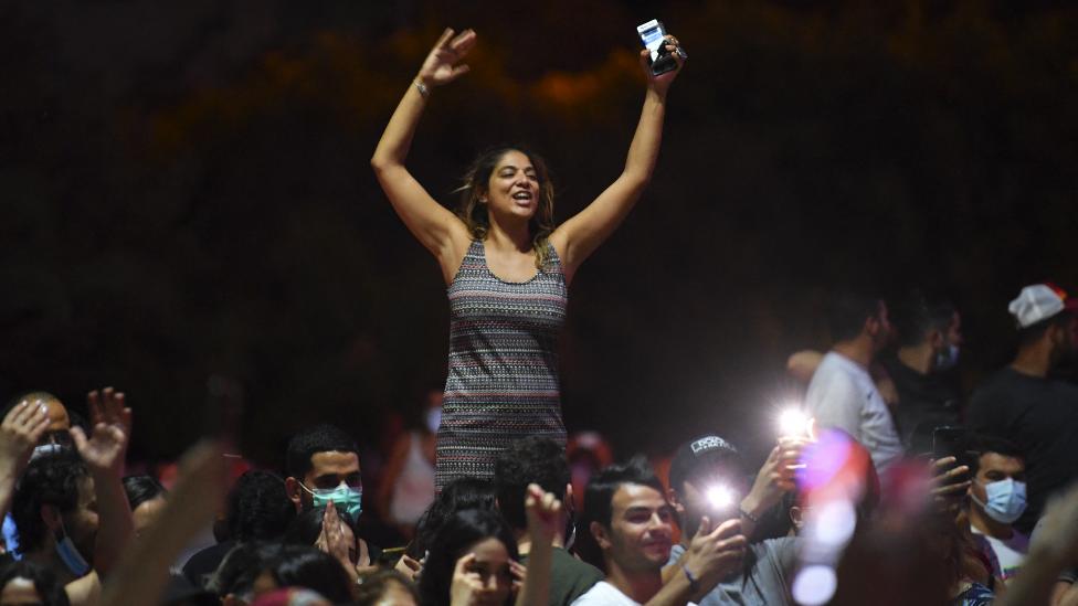 احتفالات في تونس