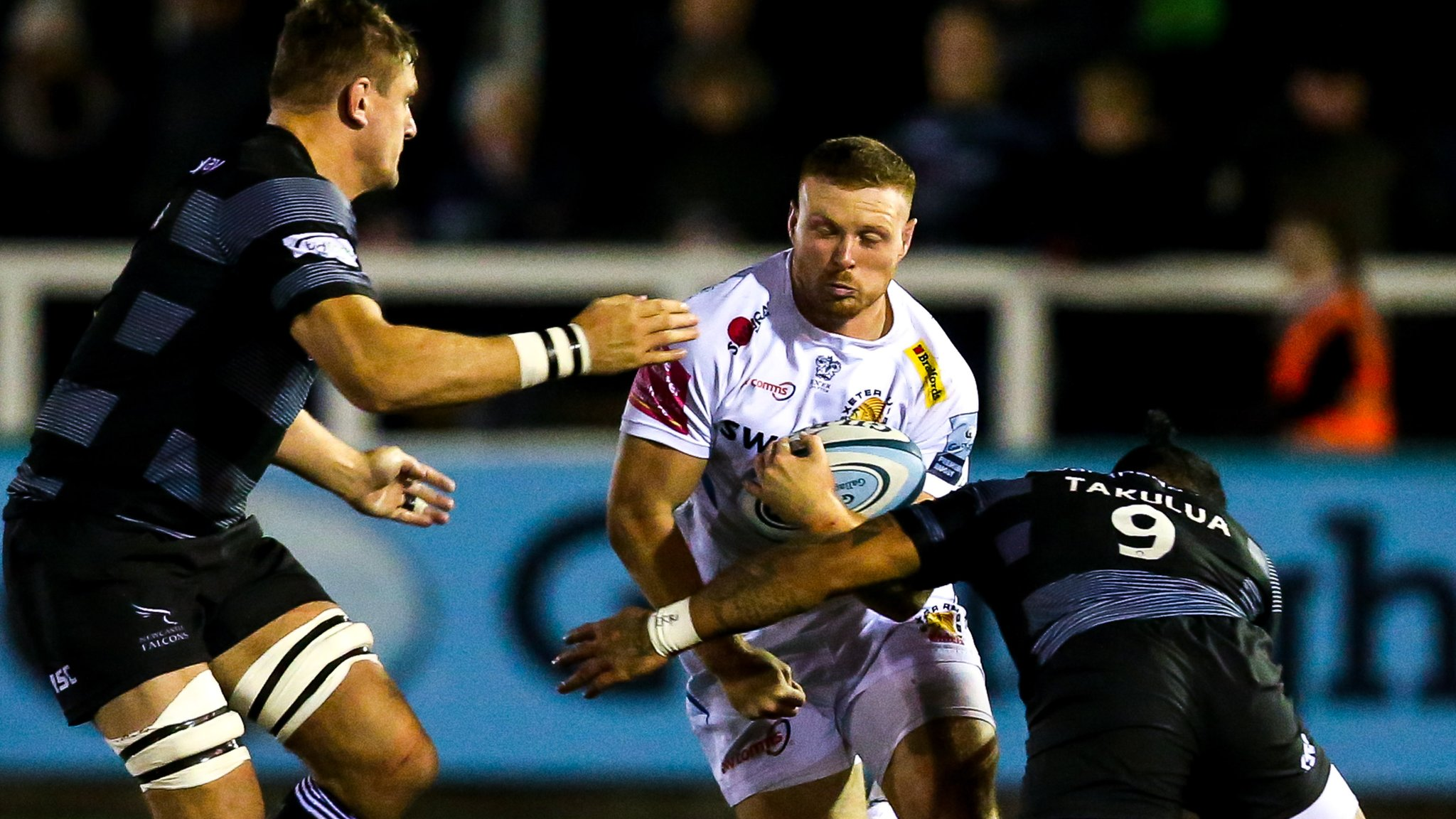 Premiership leaders Exeter overpower Newcastle