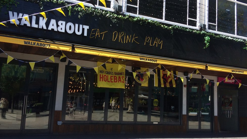Walkabout customers 'fell ill' after FA Cup final visit