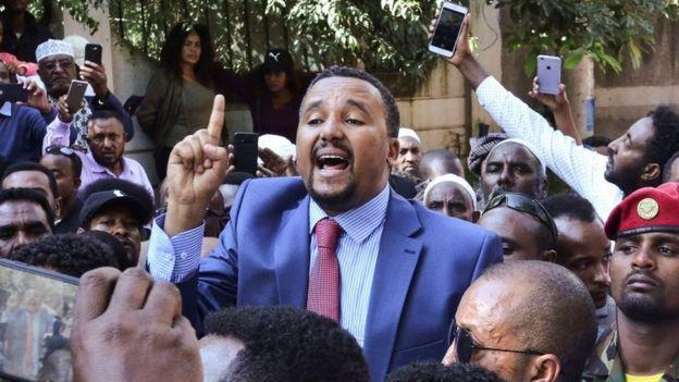 جاوار محمد القيادي البارز من الأورمو