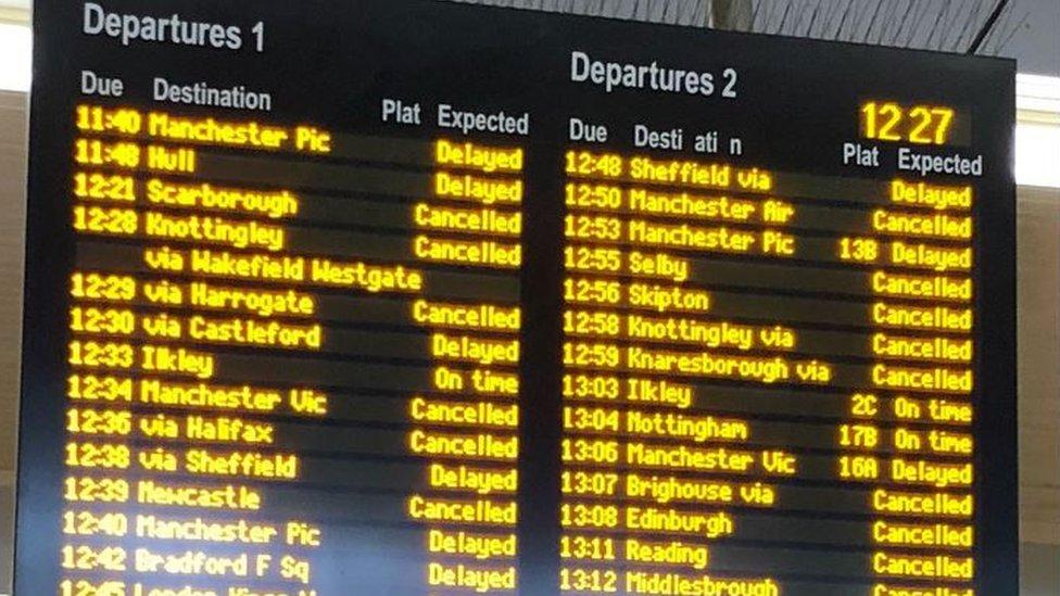 Railway delays