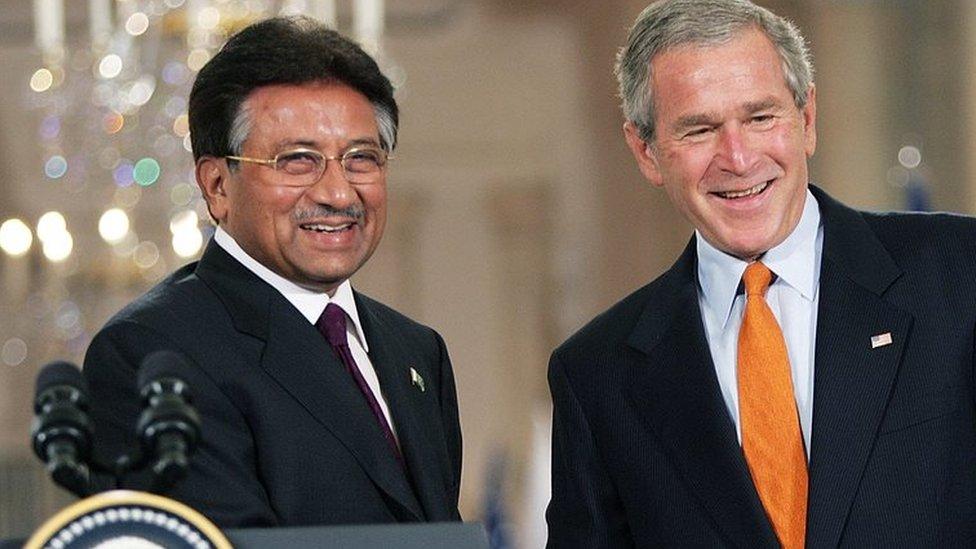 mušaraf i buš