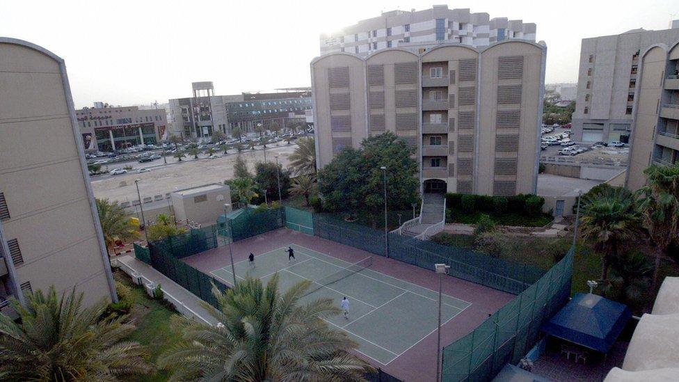 A compound in Riyadh, Saudi Arabia