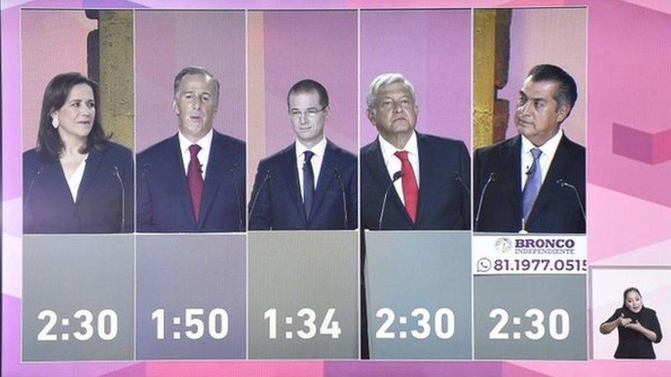debate en México
