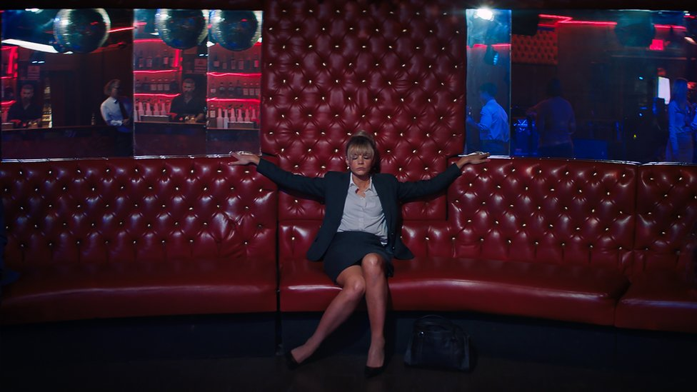 "Carey Mulligan en ""Una joven prometedora""."