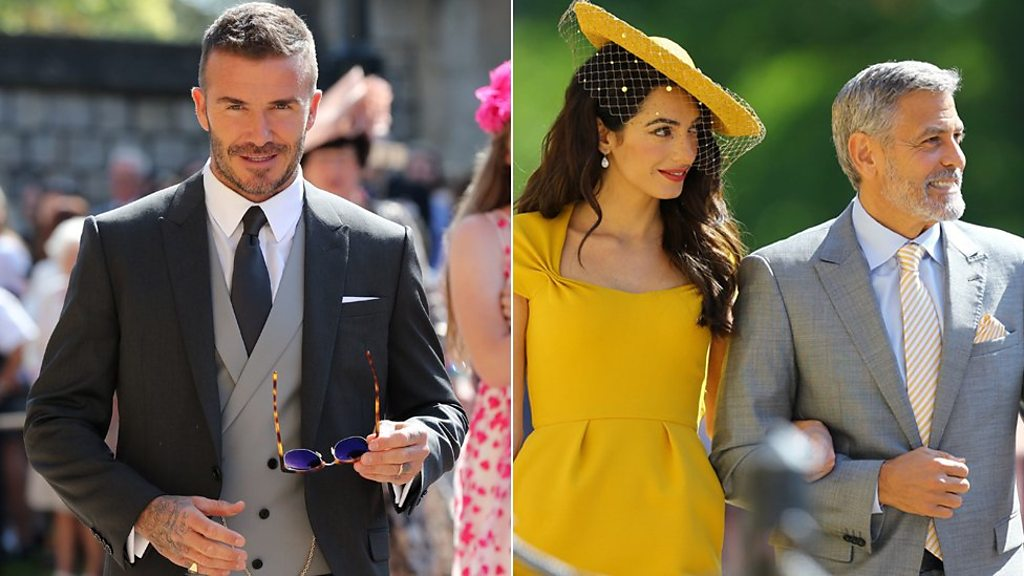 Royalty of the celebrity world attend wedding