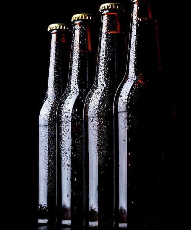 Botellas oscuras