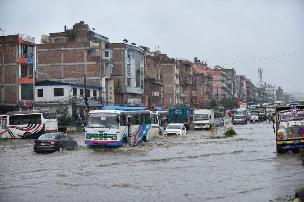 नेपाल में बाढ़
