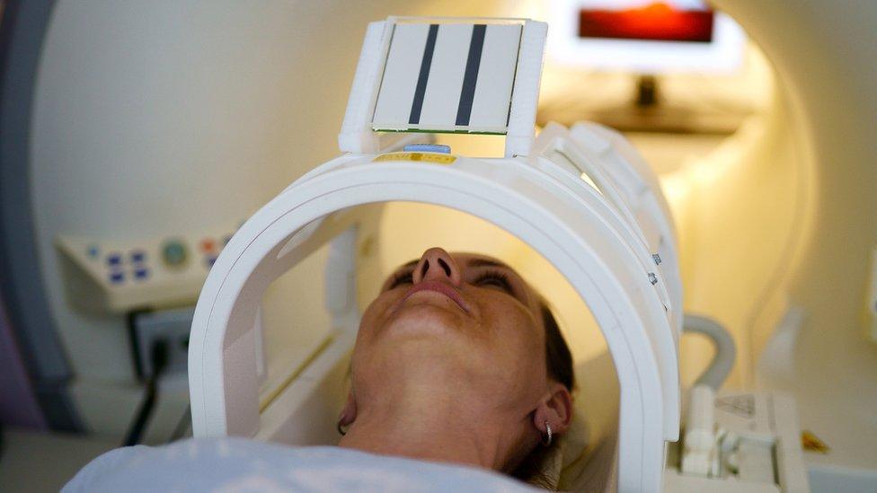 Escáner de cáncer.