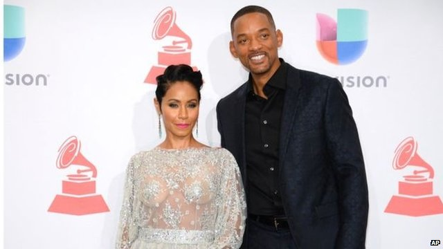 Jada Pinkett Smith with husband Will Smith