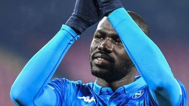 Kalidou Koulibaly: Napoli defender to miss Lazio game after red card appeal fails