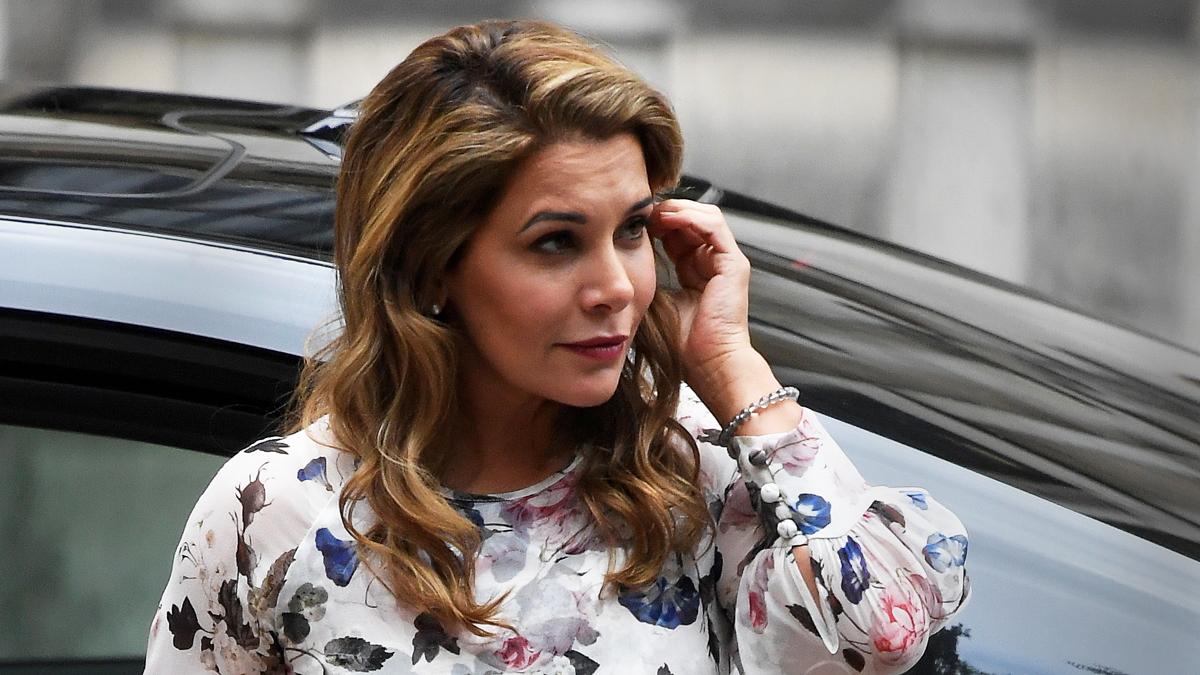 الأميرة هيا بنت الحسين في لندن في تموز / يوليو 2019