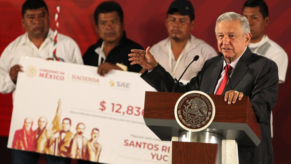 الرئيس المكسيكي أندريه مانويل لوبيز أوبرادور