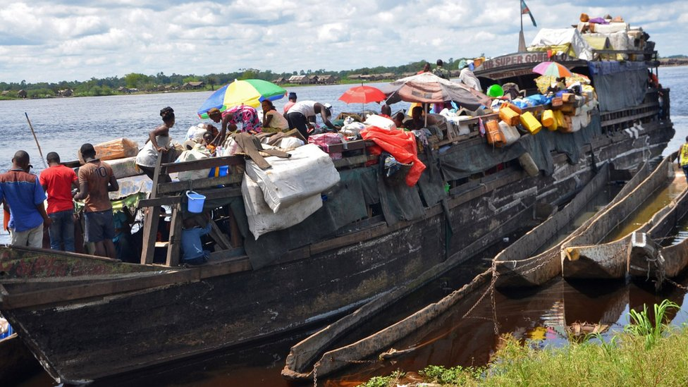 60 dead and hundreds missing in Congo river boat disaster - Tatahfonewsarena