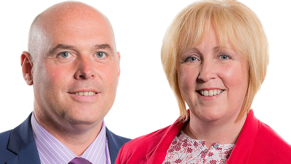 Paul Davies and Suzy Davies