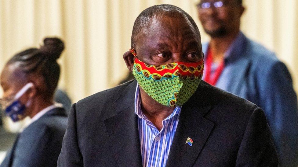 President Cyril Ramaphosa