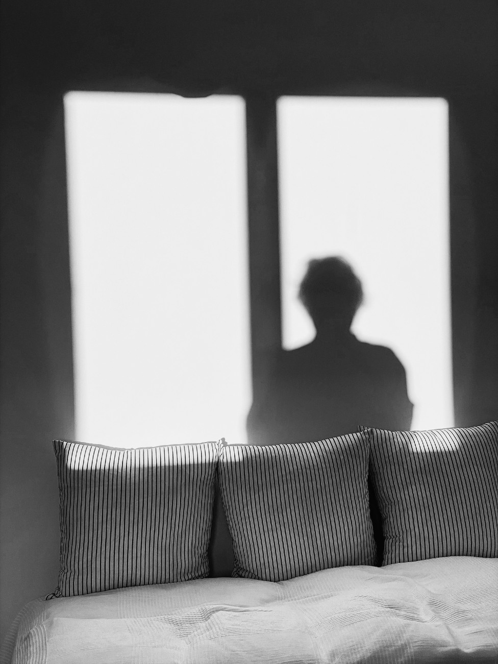 Sombra de mujer