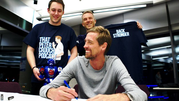 That Peter Crouch Podcast: 'He's one of them, but one of us too'