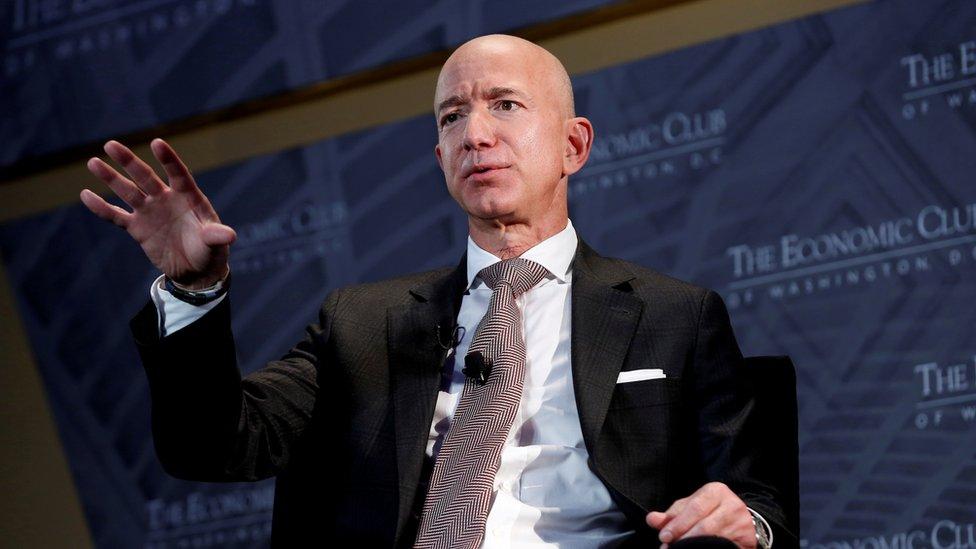 Jeff Bezos en 2018