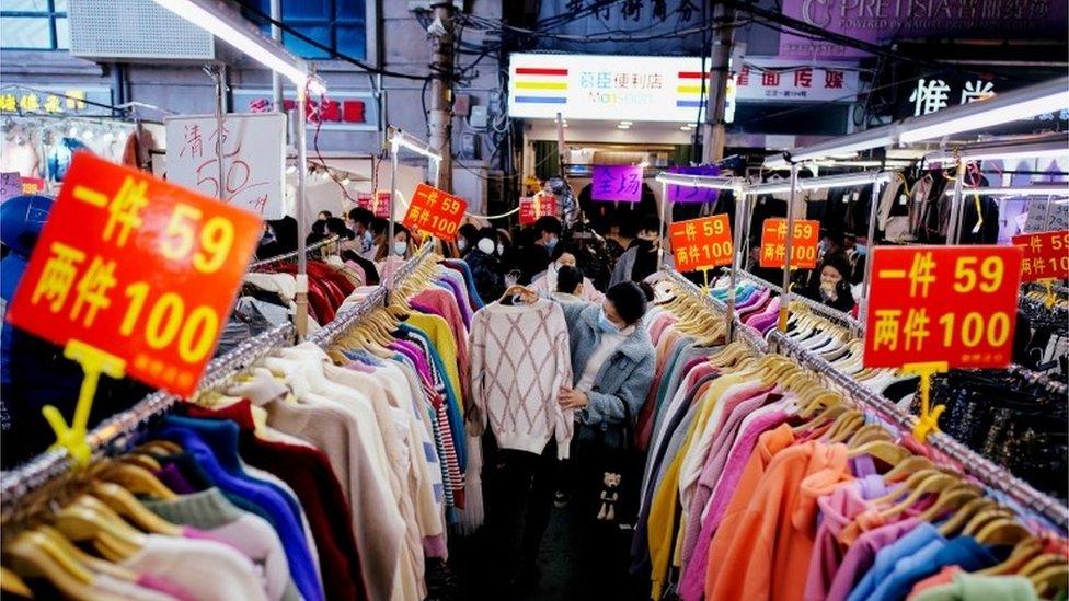 2020年12月武漢街頭